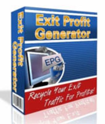 Product picture Exit Profit Generator V2