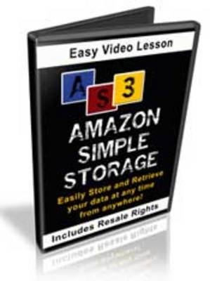 Product picture Amazon Simple Storage Video Lesson - PLR Rights Included