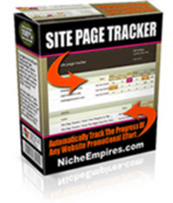 Product picture Site Page Tracker -   Resale Rights