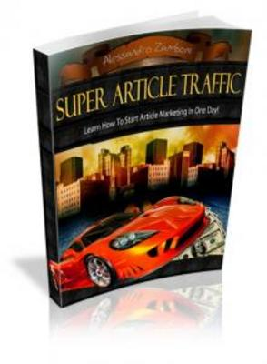 Product picture Super Article Traffic  - MRR Rights Included
