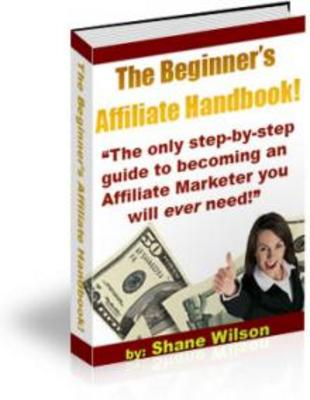 Product picture Beginner Affiliate Handbook - MRR Rights Included